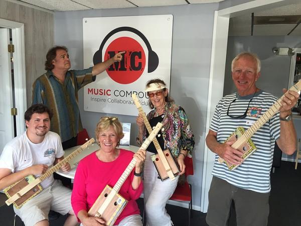 "Cigar Box Guitar Workshop Featured on ""Feel Good Friday"""