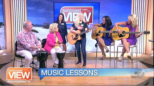 Music Compound Teaches Suncoast View Singing Lessons