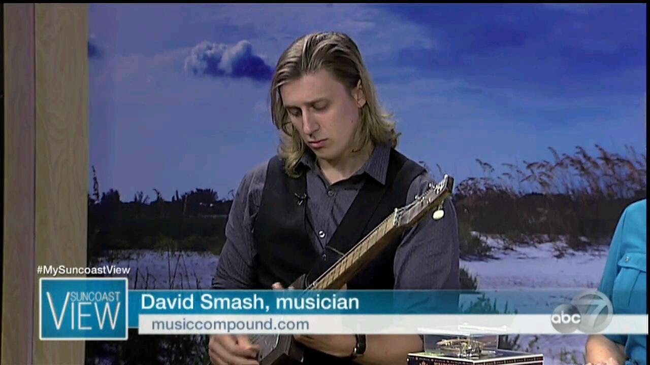 Cigar Box Guitar Lessons For Host Of Suncoast View