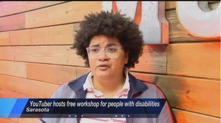 YouTuber inspires others with disabilities to chase their dreams