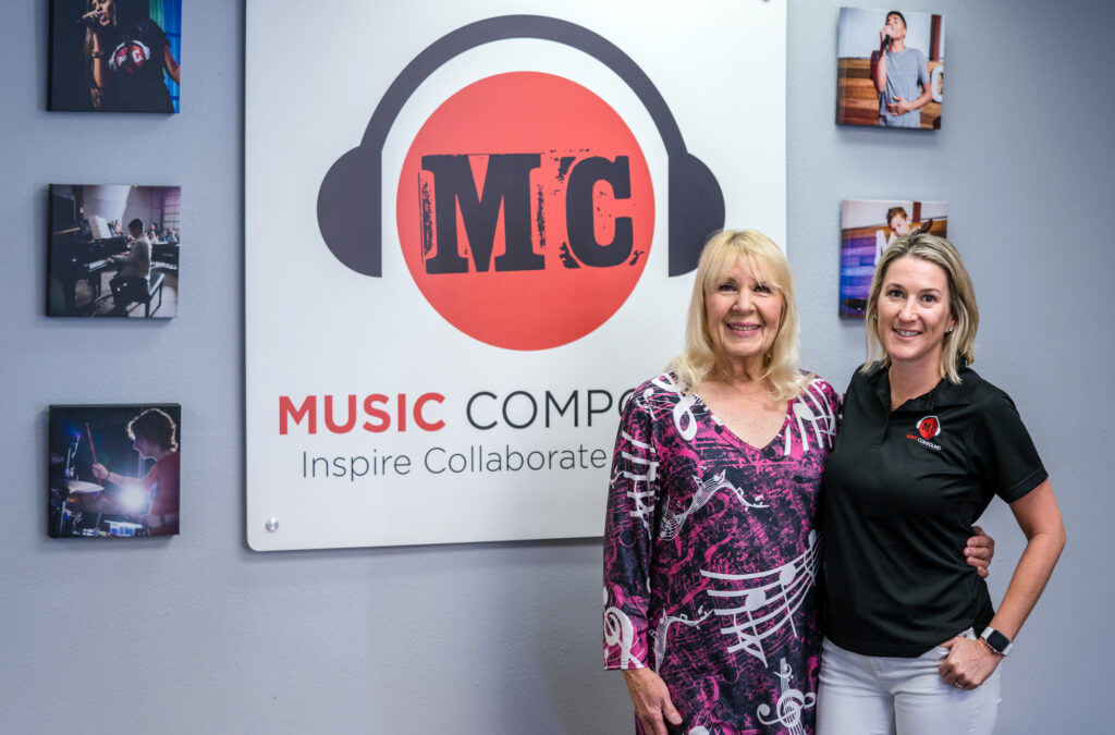 Julie Rohr McHugh and Jenny Townsend